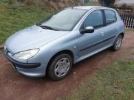 prodám Peugeot 206 1.1 el okna nová stk naj 153tis
