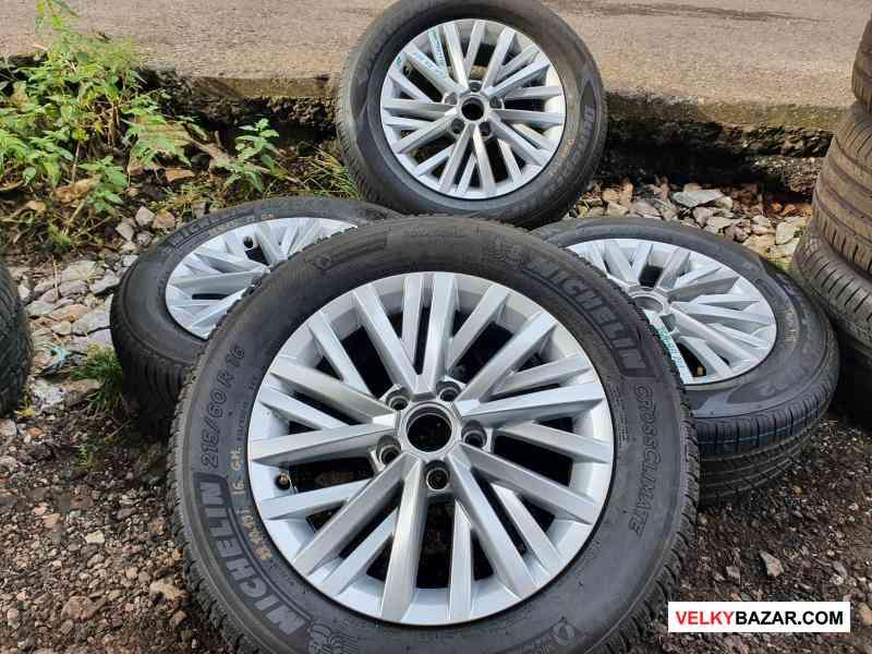 Alu kola disky orig Volkswagen t cross chester 2GA (1/5)