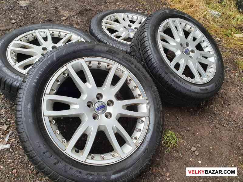 Alu kola disky orig Volvo BBS 5x108 7.5jx19 et55 r (1/5)
