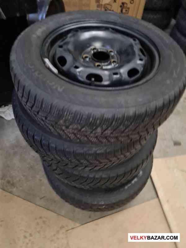 Plechove disky Fabia 5x100 5jx14 et35 pneu matador (1/5)