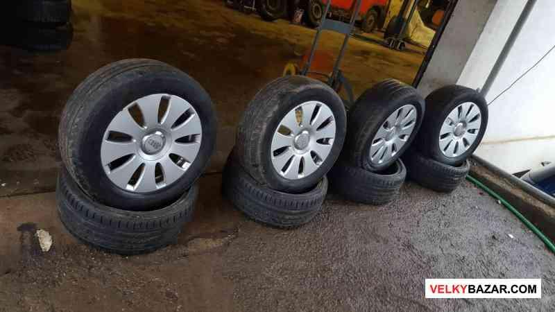alu kola audi Volkswagen 8E0 5x112 7jx16 et42 pneu (1/4)