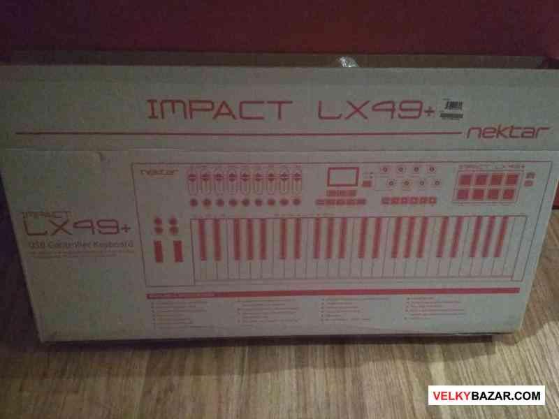 Midi klávesy Impakt LX 49+ (1/2)