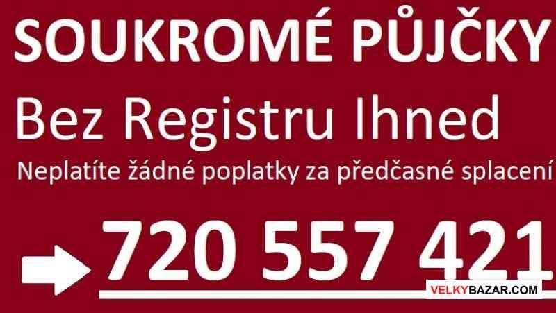Půjčka bez registru ihned na účet - 720557421 (1/1)
