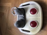 Elektrický masážní stroj s infra zárením