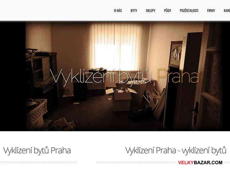 Kompletní vyklízecí služby - vyklízení bytů Praha (1/1)