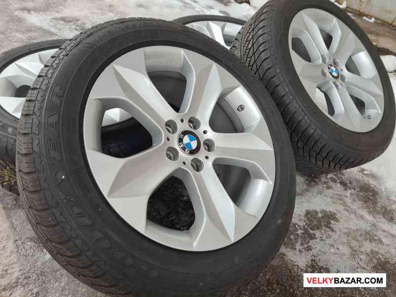 Alu kola disky orig BMW X6 E71 se senzorama 677489 (1/7)