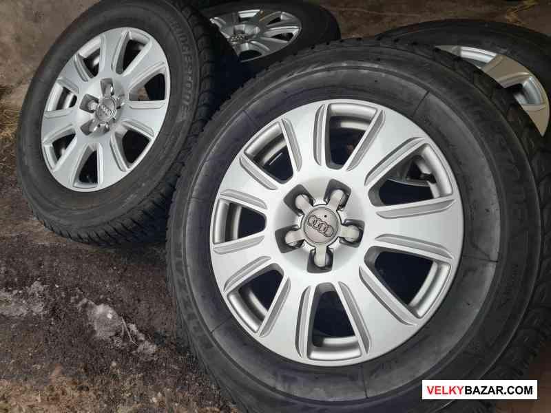 Alu kola disky Audi Q3 Volkswagen Tiguan 8U0 5x112 (1/5)
