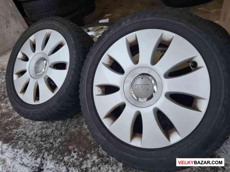 Alu kola disky orig Audi 8P0 5x112 6.5jx16 et50 pn (1/5)