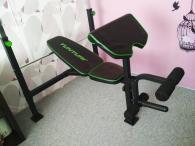 lavice na cvičení tunturi wb60 olympic width weigh