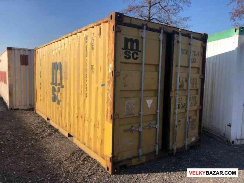 Použitý lodní kontejner vel. 6m - Praha (1/4)