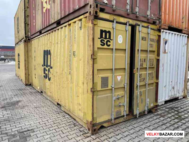 Lodní / skladovací kontejner vel. 6m v Praze (1/2)