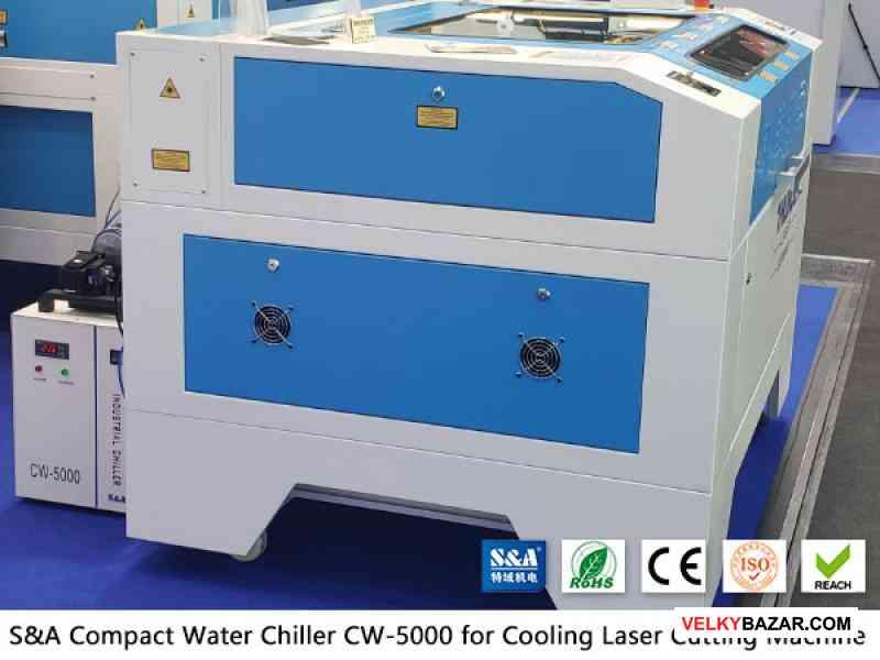 Chladič vody CW5000 pre nekovové laserové rezačky (1/2)