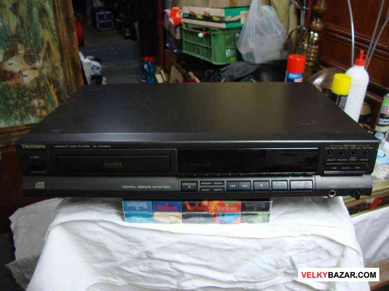 CD přehrávač pěkný funkční Technics SL-PG460A (1/5)
