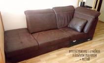 Kvalitní bytelný gauč s úložným prostorem