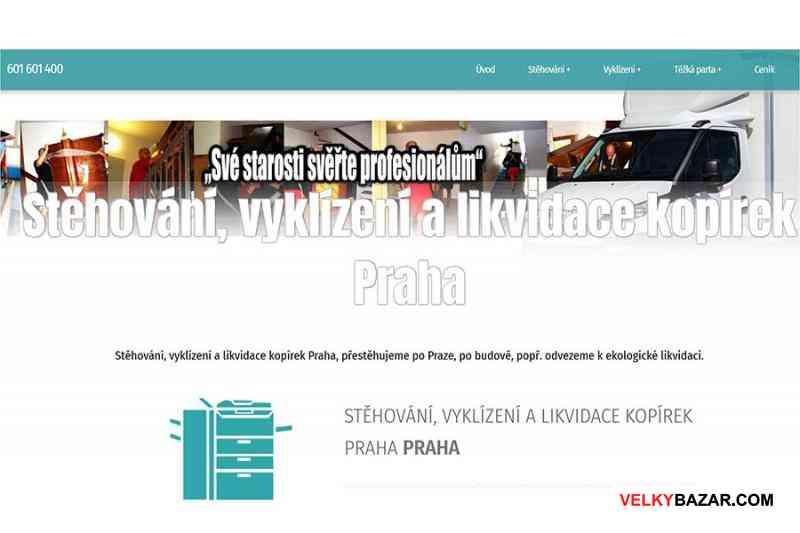 Likvidace a odvozy kopírek - těžká parta Praha (1/1)