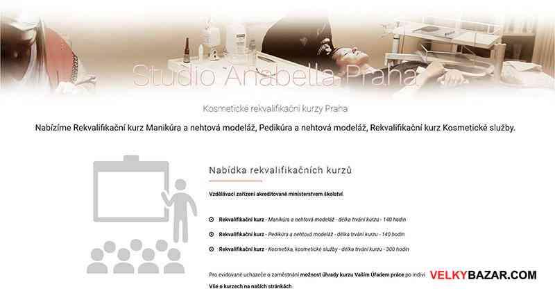 Rekvalifikační kurzy Manikúra, Pedikúra, Modeláž (1/1)