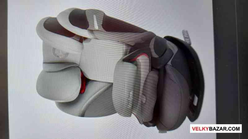 CYBEX Pallas S-fix (9-36 kg) Soho Grey - NOVÁ!!! (1/1)
