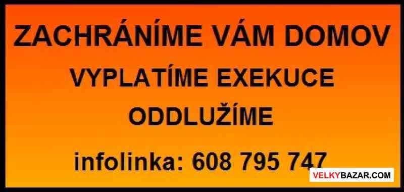 Specializujeme se na oddlužení a vyplácení exekucí (1/1)