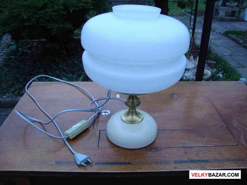 Retro lampa lampička Napako typ 8 5146 vzácná top (1/5)
