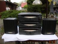Hifi hi-fi věž Kenwood zesilovač cd kazeťák rádio