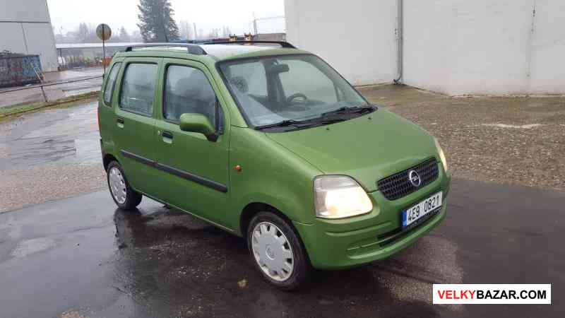 Opel Agila 1.0 12V, 43kw, r.v 2003 STK nová Servo, (1/8)