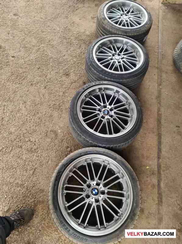 alu kola Bmw 5x120 9,5jx19 et34 pneu goodyear 245/ (1/5)