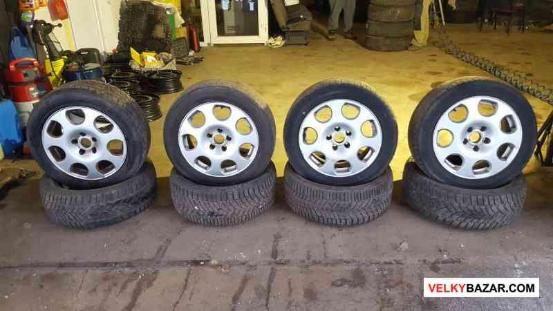 alu kola Audi speedline 5x112 7jx16 et42 pneu 205/ (1/4)