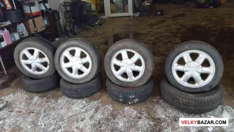alu kola Renault Brehat 4x100 6jx15 et43 pneu 185/ (1/4)