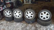 alu kola Renault Brehat 4x100 6jx15 et43 pneu 185/