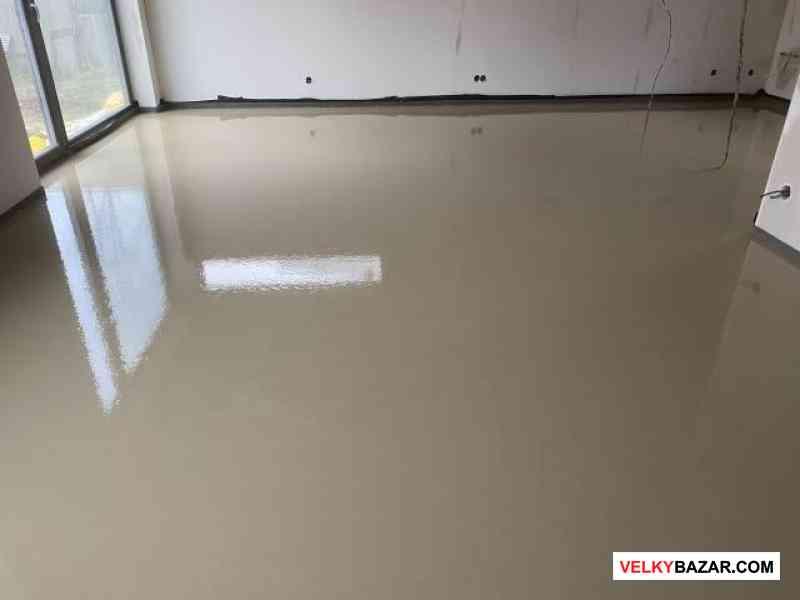 Anhydritové a cementové podlahy, topení, izolace (1/4)