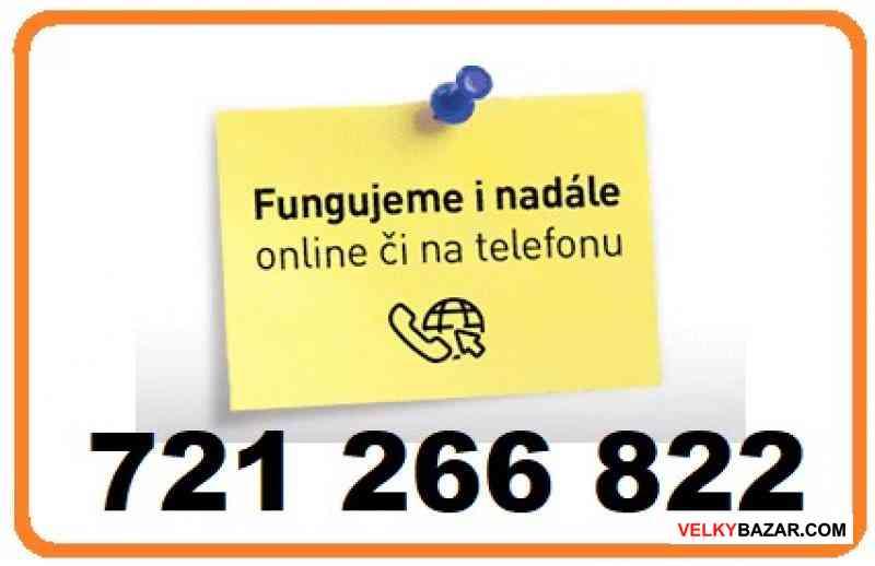 Běžně dostupná půjčka 721266822 (1/1)