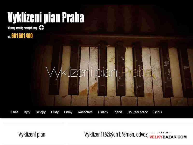 Vyklízení pian Praha (1/1)