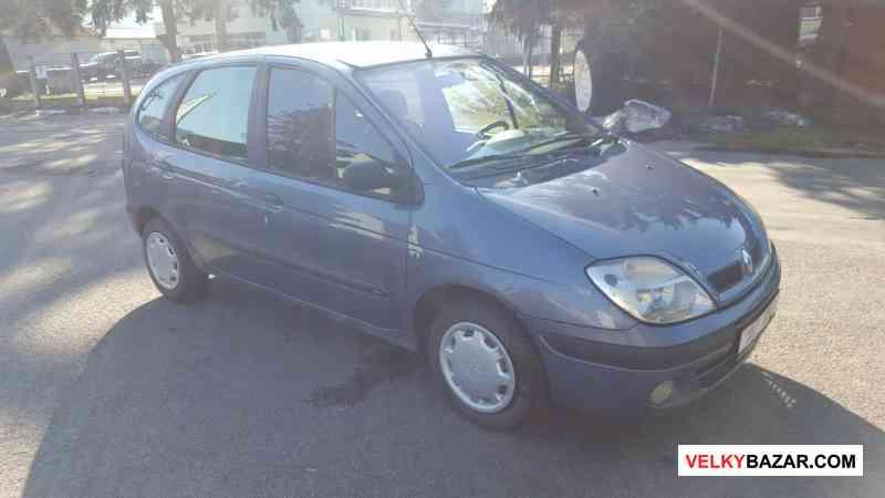 Renault Megane Scenic 1.6i, r.v 2000, najeto 200ti (1/4)