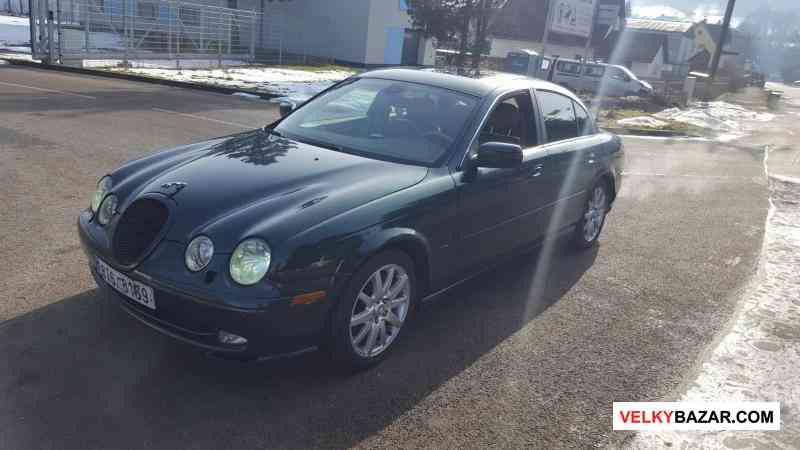 Jaguar S-type Executive 4.0 W8 203kw, r.v 2000, na (1/7)