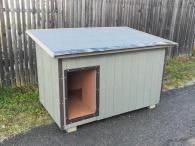 Psí bouda CLEAN EXTERIÉR-Hygienická zateplená boud